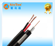 SYV75-5视频线+RVV2*0.5平方电源线